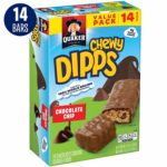 Quaker Chewy Dipps Chocolatey Covered Granola Bars, 14 Count Only $2.35!