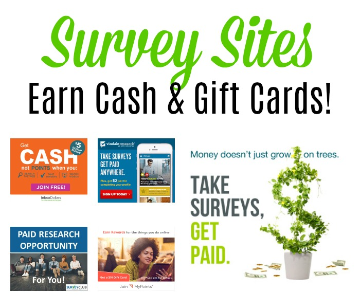 Earn Rewards and Cash with Survey Sites!