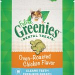FELINE GREENIES Natural Dental Care Cat Treats Only $1.76!