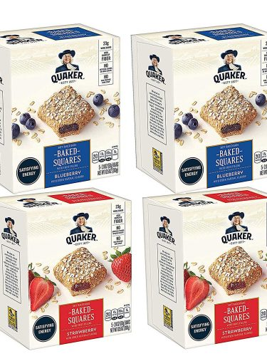 Quaker Baked Squares 4-Box Pack as low as $9.55 Shipped!