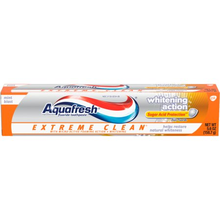 Kroger: Aquafresh Extreme Clean Toothpaste Only $1.24!