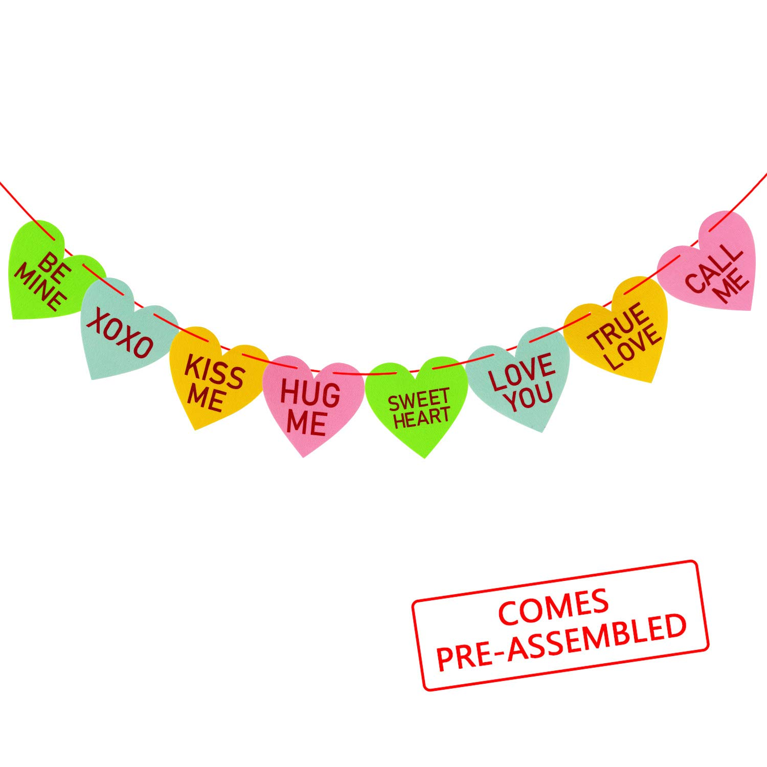 Conversation Candy Hearts Banner Only $6.99!