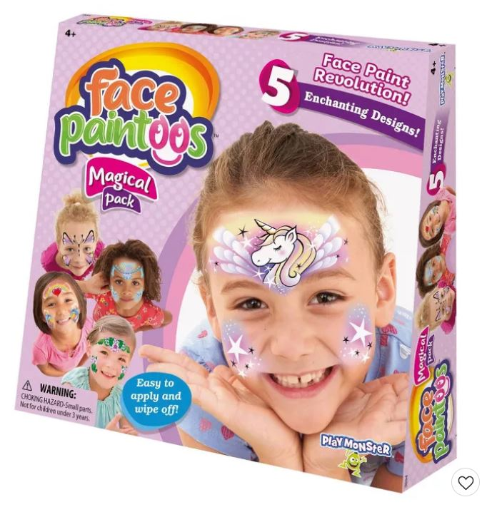 Target: Face Paintoos Magical Pack Only $7.49!