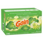 Gain Dryer Sheets, 240 count as low as $5.09!