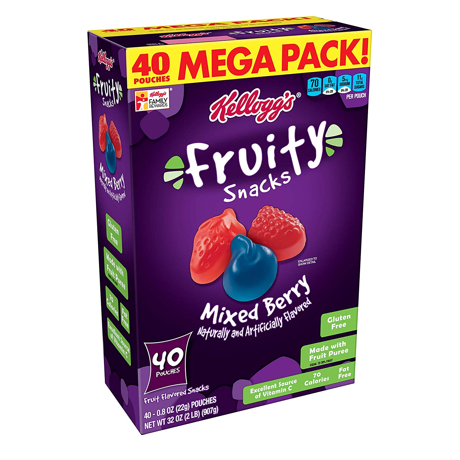 Kellogg's Fruity Snacks 40-Count as low as $5!