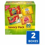 Nabisco Savory Cracker Variety Pack, 40 count pack as low as $9.87 ($0.25 Each)!