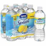 Nestle Splash Water Lemon Flavor 6-Pack Only $1.00!