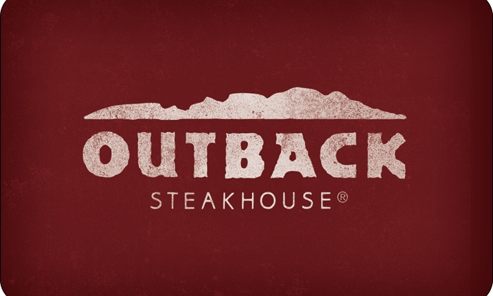 $25 Outback Steakhouse Gift Card Only $20!