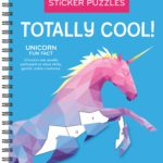 Sticker Puzzles: Totally Cool Spiral Bound Book Only $7.00!