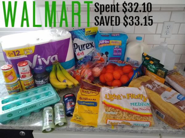 Walmart Shopping Haul – 2/28/20