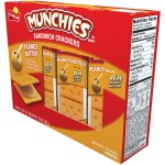 Munchies Peanut Butter Sandwich Crackers 8-Count Only $1.98!
