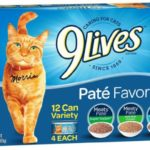 12-Count 9Lives Paté Favorites Wet Cat Food Variety Pack as low as $3.65!