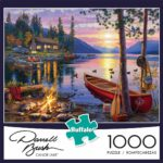 Buffalo Games Canoe Lake 1000 Piece Jigsaw Puzzle Only $9.97!