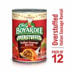 Chef Boyardee Overstuffed Italian Sausage Ravioli, 15 oz, 12 Pack as low as $10.30!