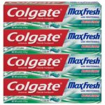 Colgate Max Fresh Whitening Toothpaste with Breath Strips, 6 ounce (4 Pack) as low as $6.78!