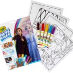 Crayola Color Wonder Frozen Coloring Book & Markers Only $5.49!