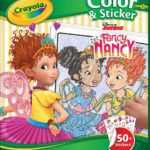 Crayola Fancy Nancy Coloring Pages & Sticker Sheets Only $4.99!
