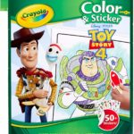 Crayola Toy Story 4 Coloring Pages & Stickers Only $3.74!