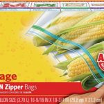 Glad Zipper Food Storage Plastic Bags - Gallon - 50 Count as low as $3.95!