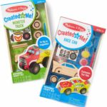 Melissa & Doug Decorate-Your-Own Wooden Craft Kits Set - Race Car AND Monster Truck Only $6.99!