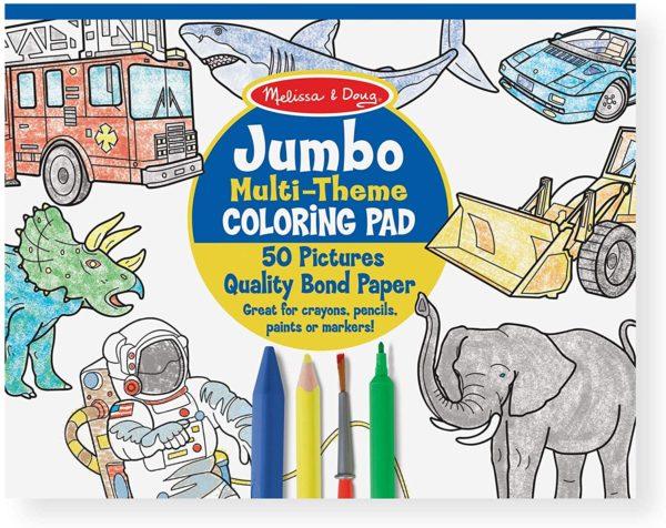 Melissa & Doug Jumbo Coloring Pad