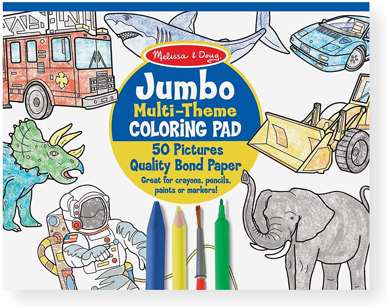 Melissa & Doug Jumbo Coloring Pad Only $5.99!