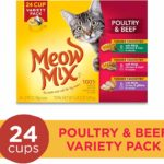 Meow Mix Tender Favorites Wet Cat Food - Poultry and Beef, 24 count as low as $7.83!