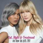 Haircut, Style and Treatment at Paul Mitchell the School as low as $15.20!