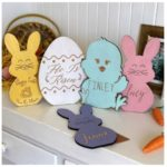 Personalized Easter Wood Signs - Ships for $9.98!