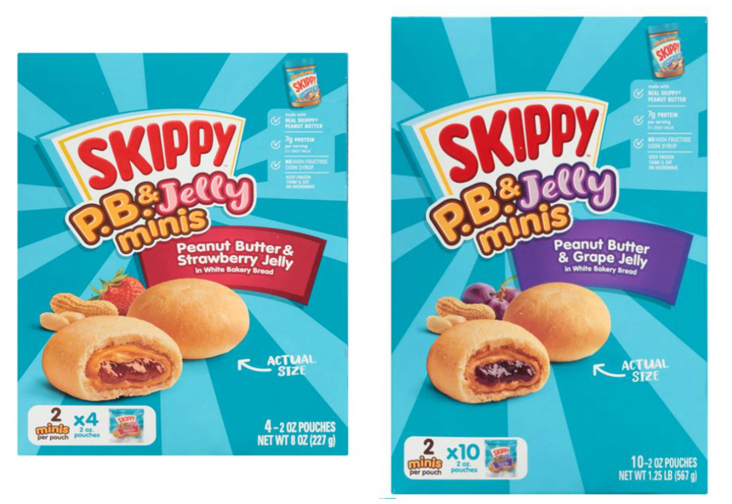 Meijer: Skippy PB&J Mini's 4ct AND 10ct Only $6.48!