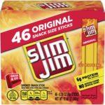 Slim Jim Smoked Snack Stick Pantry Pack, 46 Count as low as $7.33!