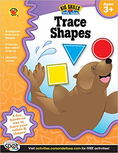 Trace Shapes Workbook
