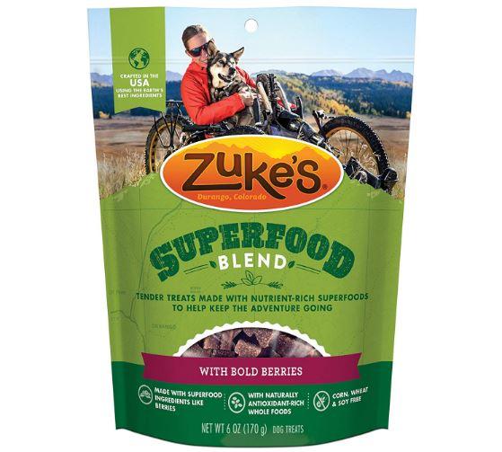 Zuke's Superfood Blend Dog Treats