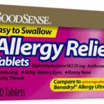 Allergy Relief Tablets 100-Count Bottle as low as $2.72!