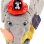 Dumbo Live Action Plush with Fireman Outfit Only $4.04!