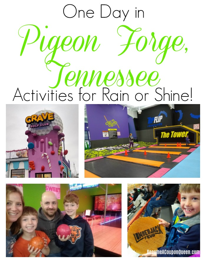 One Day in Pigeon Forge – Activities for Rain or Shine!