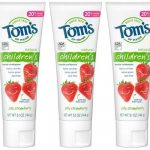 Tom's of Maine Children's Toothpaste 3-Count CHEAPER than in Stores!