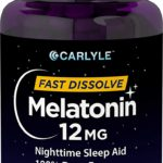 Carlyle Melatonin 12 mg Fast Dissolve 180 Tablets as low as $9.30!
