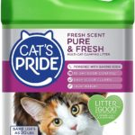 Cat's Pride Fresh Scent Pure & Fresh Multi-Cat Clumping Litter, 10-Pound Jug as low as $4.66!