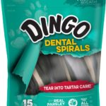 Dingo Tartar and Breath Dental Spirals as low as $2.31!