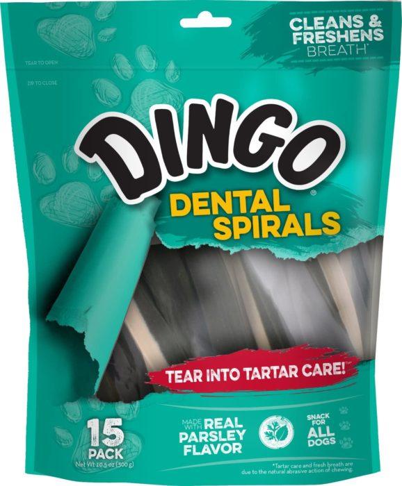 Dingo Tartar and Breath Dental Spirals