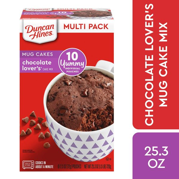 Duncan Hines Mug Cakes, 10 count as low as $3.40! - Become ...