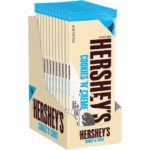 HERSHEY'S Cookies 'n' Crème Bars, Extra Large, 12 count - $15.36 - Best Price!