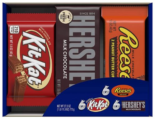 Full Size Candy Bar Gift Box 18-Count as low as $11.25!