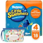 Huggies Little Swimmers Disposable Swim Diapers + Huggies Wipes as low as $7.35!