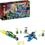 LEGO NINJAGO Jay and Lloyd's Velocity Racers Building Kit - $23.99 - Best Price!