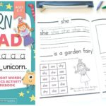 Learn to Read: A Magical Sight Words and Phonics Activity Workbook Only $6.99!