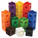 Linking Cubes for Math, Set of 100 Only $10.50!