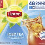 Lipton Gallon-Sized Black Iced Tea Bags Only $10.52!