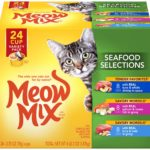 Meow Mix Savory Morsels Wet Cat Food 24-Count Pack as low as $7.91!